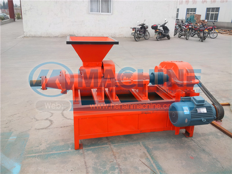 small occupation area high efficiency BBQ coal/charcoal extruder briquette making machine for hot sale manufactor.