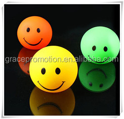 Top quality professional different color smiling face flashing toy
