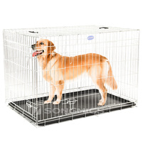 Large Outdoor collapsible chain link welded wire heavy duty dog cage