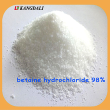 China Supplier Betaine hcl 98% feed grade for animal feed addtives