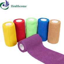 colored elastic surgical waterproof self adhesive bandage