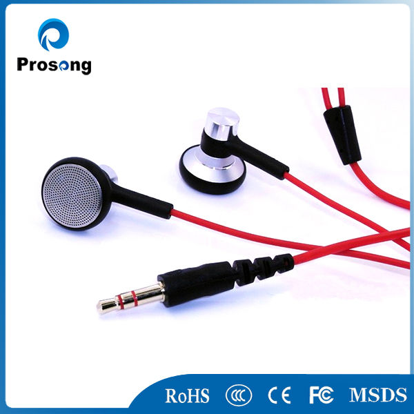 2014 Hot sale earphone long wire stereo mp3 mp4 earphone