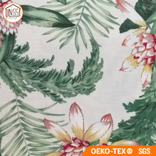Premium Quality Safety Printed Cotton Linen Fabric for Curtain Raw Meterial