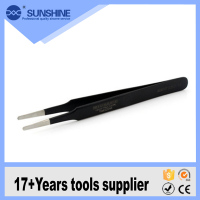 Anti-Magnetic Tip Precision Stainless Steel Tweezers for mobile repair tools