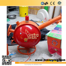 Factory Direct Metal Ball Cannons Play Equipment Indoor Play Spare Parts for Children's Indoor Playrounds