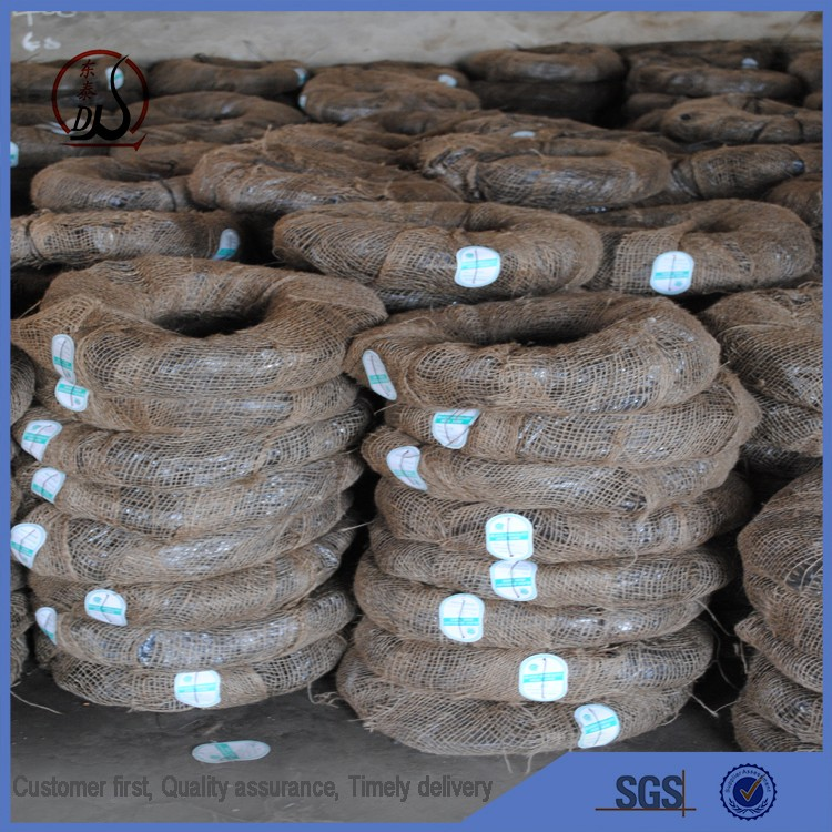 2016 black annealed iron wire small coil for rebar tie wire