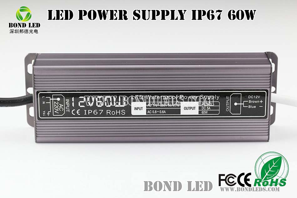 24v ups power supply 1kva 220v high quality waterproof 60w led driver