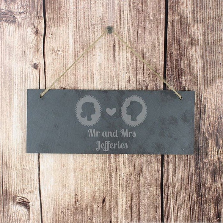 Commercial promotion slate hanging gift for your home