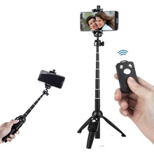 YUNTENG 9928 Foldable Camera Tripod Selfie Stick with Bluetooth Remote Shutter for <strong>Mobile</strong> <strong>Phones</strong>
