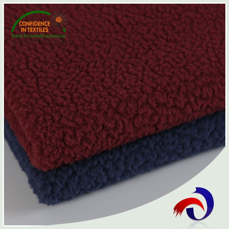 High quality soft touch felt warm knit 240gsm boild wool fabric for blanket
