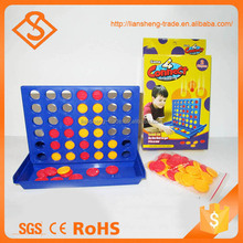 High quality funny kids education toy four connect chess board game
