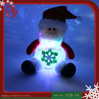 Home Decoration Gifts Toys Indoor New Year Festival Ornament Santa Claus Led Christmas Light