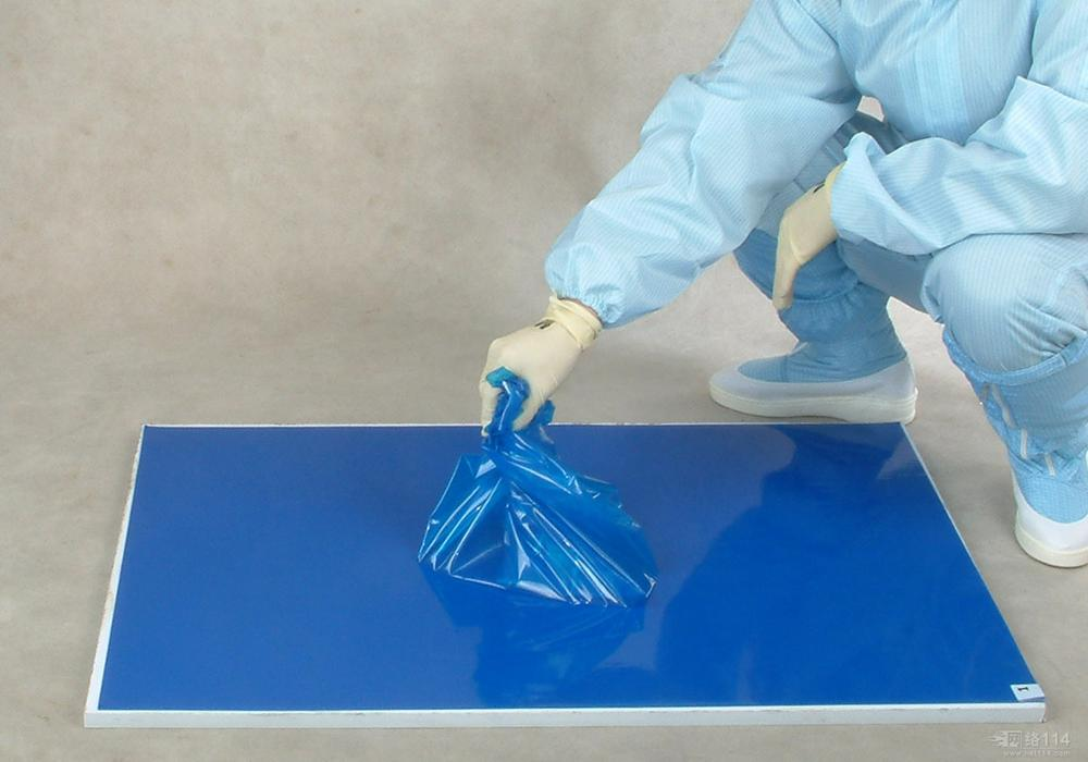 Blue White Clean Room Disposable ESD Sticky Mat
