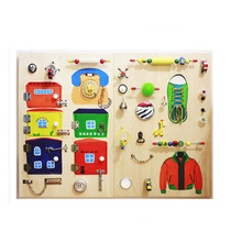 activity board screen printing high quality wooden montessori <strong>toys</strong>