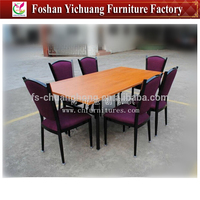 Wholesale Hotel banquet table and chairs YC-D69-01