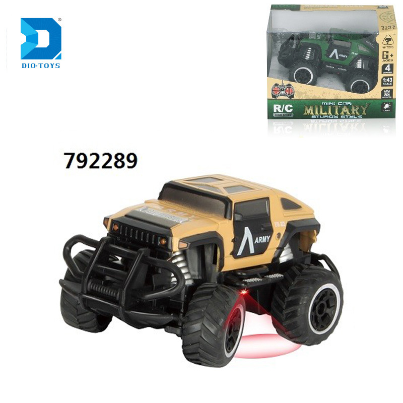 Best selling items 1:43 mini off road jeep rc model for kids