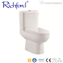 Cheap price south american sanitary ware ceramic two piece corner Toilet sizes