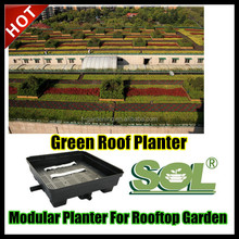 Green Roofs Planter vertical planters plastic raised garden bed flower pot tray