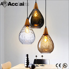 Factory Wholesale Price European Style Luster Stained Glass Pendant Lamp