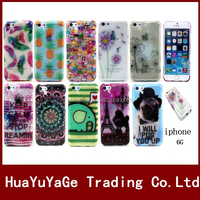 Silicone glitter TPU Soft Silicone phone cases cover for Apple iphone 6 6S