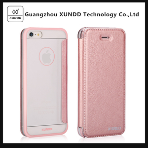 [XUNDD]Alibaba Express Luxury Original Genuine PU Leather Cover Cell Phone Case For iPhone 5S