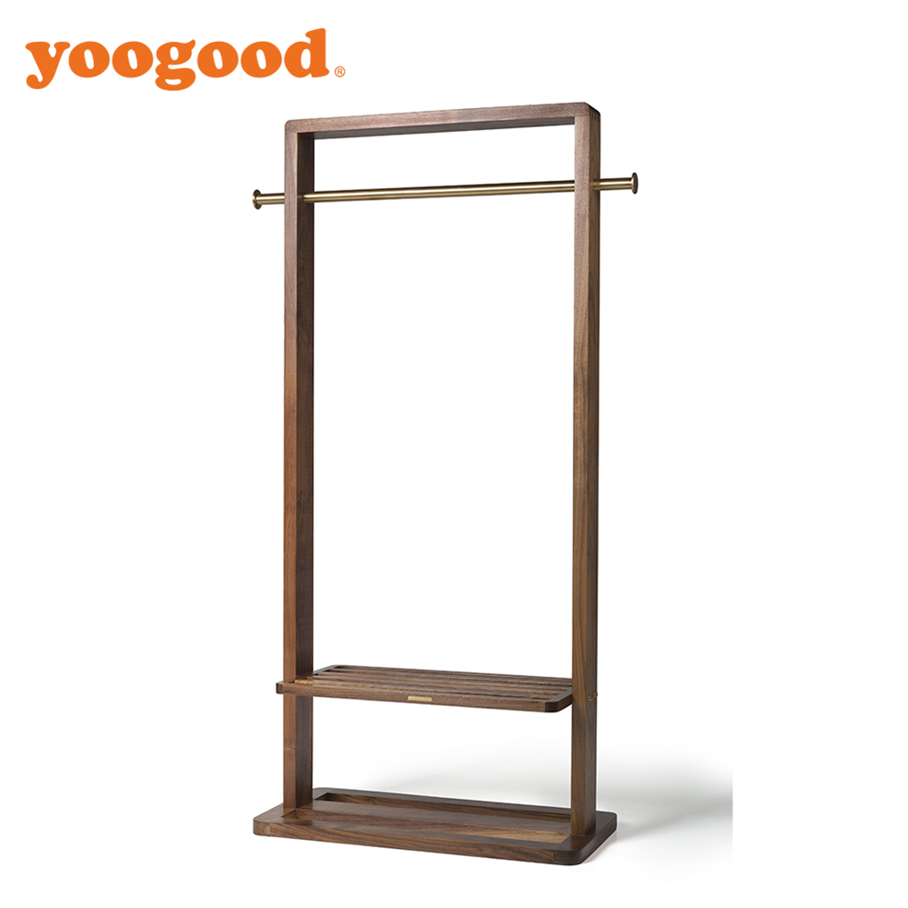 Yoogood Wood Hanger Pole For Clothes