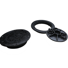 cast iron standard size manhole cover with frame
