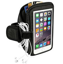 Sport Sweatproof Armband with Key Holder and Card Pouch for iPhone 7 plus /6S plus /6 plus