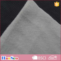 90% polyester 10% spandex double faced polar fleece fabric