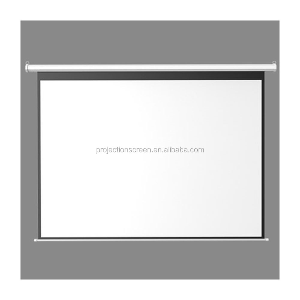 "High definition projector screen electric 120"" for led projector"