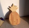 Bamboo cutting board Pineapple shape Chopping board Kitchenware