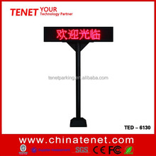 RS485 parking garage signs Entrance parking space number displays LED Parking Lot Lighting screen with stand
