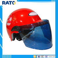 Cool red half face motorcycle scooter helmets factory price
