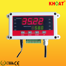 KH706D digital industrial conducto <span class=keywords><strong>Indicador</strong></span> <span class=keywords><strong>de</strong></span> <span class=keywords><strong>temperatura</strong></span> <span class=keywords><strong>y</strong></span> <span class=keywords><strong>humedad</strong></span>