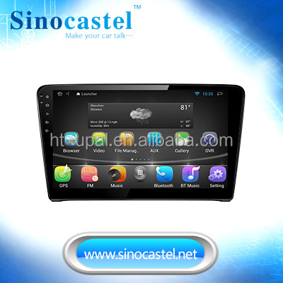 OEM/ODM Manufacturer Android Car GPS Navigation for VW Santana 2013 with 10.1 inch full touch screen, Bluetooth