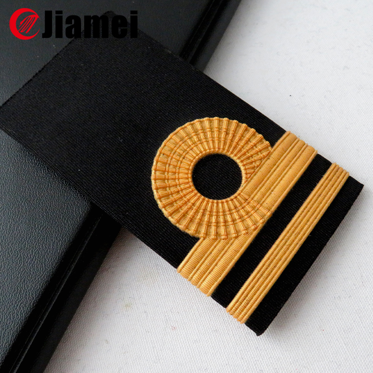 Navy Shoulder Boards 2015 custom made pilot military uniform accessories