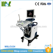 Guangzhou supplier digital trolley ultrasound scanner / pc ultrasound scanner