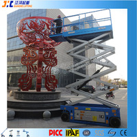 China Electric Hydraulic Mobile Portable Manlift