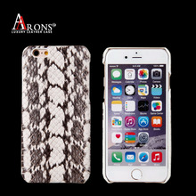 High quality ultra thin genuine python leather phone back case cover for iphone6/7