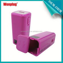 2014 newest designed top sales AA batteries power bank for blackberry z10