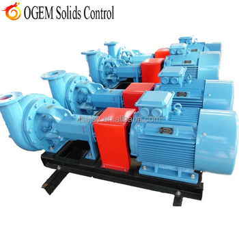 drilling fluid solids control feeding centrifugal pump