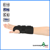 "Good Quality C1WR-1102/ 1202(Right/ Left) 10"" Adjustable Black Medical Wrist Wraps for Pain Relief"