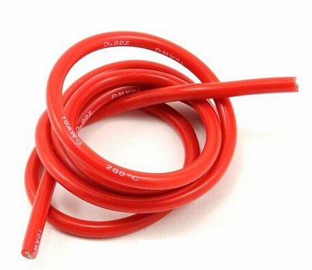 special soft silicone cable 600V 8 AWG high temperature resistant 200C