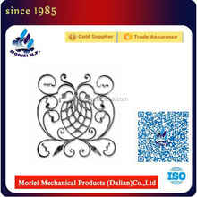 Decorative Wrought Iron Ornaments, Wrought Iron Scrolls, fer forge Quality Choice Inquiries:200+ FOB Price: US $0.5 - 8 / Piece