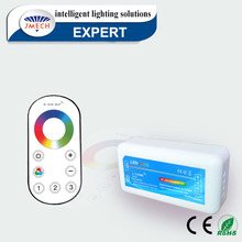 Brand Jeelite lighting 2.4G 12v 24v 4 Zone RF Touch Dimmer Wifi RGB Led Strip Controller