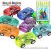 Plastic small toy car children game toys car, pull back car