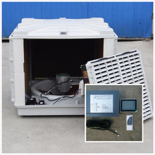 lcd control multi speed and inverter evaporative air cooler