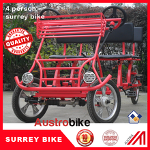 hot selling Quadricycle 4 Seats Bike Surrey Bike from china for Canada USA Europe