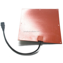 customized silicone rubber heater with 3M adhesive on backside battery powered camping heater