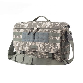 YAKEDA military camouflage waterproof sling bag messenger lightweight tactical laptop bag